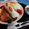 カタクリの花 - 料理写真:小河内ダムカレー1,000円