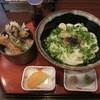 麦笛たまき - 料理写真:だし醤油うどん&ちょんぼし天丼