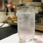 神楽 - 焼酎水割りで