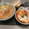 どさんこ - 料理写真:みそセット(味噌ラーメン+ミニかつ丼セット)¥1100♪