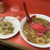 金龍 - 料理写真:味噌ちゃんぽん750円と、他のお客さんからいただいたやきめし