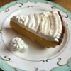 トップ・ハウス - 料理写真:手作りケーキセット¥680☆かぼちゃパイ♪