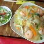 48669025 - 蝦仁炒麺