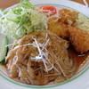 ぽぷり亭 - 料理写真:生姜焼き イカフライ