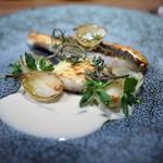 スブリム - 和歌山産的鯛 オニオン 牡蠣 エストラゴン