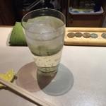 立ち飲み処 ○ - ウィスキー(S)+炭酸です☆