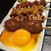 やきとり処 月忠 - 料理写真:串焼き、もつ焼き(つくね、子袋、ガツ、カシラ)