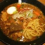 つなぎ - もつ味噌煮込み らぁ麺❤ ♪o((〃∇〃o))((o〃∇〃))o♪ ツ~モ~ カイデ~❤