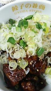 餃子の並商 - (不純)白レバー丼