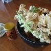 むらかみ - 料理写真:冷やがけ天そば 1,080円 どこからやっつければいいの?やっぱり天ぷらからですね(≧з≦)ノ