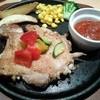 日本一 - 料理写真:チキンステーキをUP