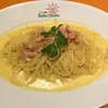 イタリア厨房 ベッラ・イタリア - 料理写真:ベーコンたくさんのカルボナーラ