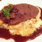 チャモロ - やわらか厚切り牛タンのオムライス