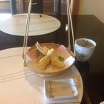 蕎麦 貴賓館 - 天麩羅
