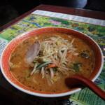 音羽鮨 - 辛みそラーメン