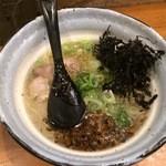 麺場 Voyage - ホタテとキノコの潮ラーメン