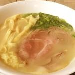麺屋 菜々兵衛 - 鶏白湯@新宿伊勢丹北海道展
