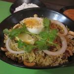 南インド家庭料理 インダスレイ - ハイデラバードビリヤニ(マトン、1,280円)