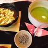 四季房 - 料理写真:金のぜんざいと抹茶のセット