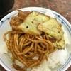 子熊 - 料理写真:焼きそばオンザライス