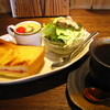木木の釜座 - 料理写真:クロックムッシュのモーニング¥400(税込)