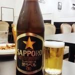 リトル成都 - ビールはサッポロ!うれしいなぁ~
