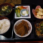 一八飯店 - 日替わり定食550円