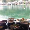 与謝荘 - 料理写真:窓際のカウンター席