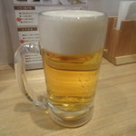 つるのおんがえし - 生ビール