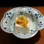 一即夛 - ウニ豆腐