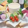 """旬彩イタリアンダイニング DOADOA - 料理写真:8~10種の""""野菜ソムリエ厳選お野菜""""を特製バーニャカウダソースでお楽しみいただけます♪ 畑の匠から届く野菜本来の味わいを堪能できる逸品です"""