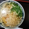 萩野屋 - 料理写真:ごぼう天うどん