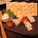 日がさ雨がさ - 創作チーズ5種盛り合わせ
