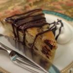 北浜レトロ - バナナとチョコのケーキ