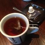 ザ シティ ベーカリー バー アンド バーガー ルービン - ドリンク写真:紅茶(アールグレイ)♪