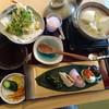 小川温泉 花和楽の湯 楽膳 - 料理写真:2016/3 温泉宿の美豆富コース 1980円