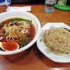 台湾料理 百味鮮 - 料理写真:台湾ラーメン&炒飯