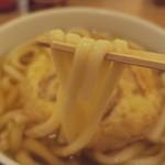 48791821 - ごぼう天うどんの麺〔16/3/18撮影〕