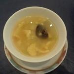 48792644 - 玉子とキャベツのスープ