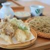 まん作 - 料理写真:季節の野菜天せいろそば  ¥1,400
