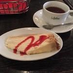 カフェ ラ・ボエム - シチリアンティーとミルクレープ