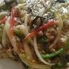 鳳仙花 - 料理写真:挽き肉野菜ヤキソバ  850円 税別