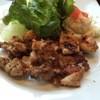 大戸屋 - 料理写真:もろみ漬け鶏の直火焼きアップ