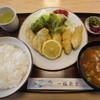 一福食堂 - 料理写真:浜名湖産カキフライ豚汁ライス