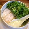 麺屋時茂 - 料理写真:鶏白湯(塩)