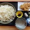 みろく - 料理写真:みろく天(冷)大 970円(税込)桜えび、インゲンのかき揚げ付き。