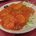 京華樓 - 小海老のチリソース炒め