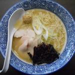 麺屋 鶏人 - 和風鶏白湯らーめん 650円