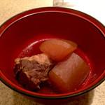 48820347 - 桜カルビと大根の炊き合わせ