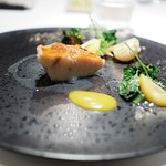ALLIE - 下田産 金目鯛の炭焼き 金柑のコンディマン